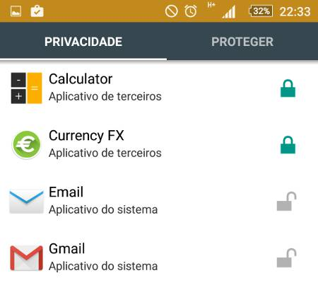 Como esconder aplicativos no Android