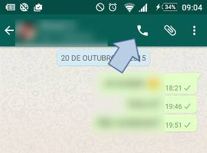 chamadas whatsapp