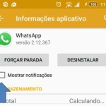 Como desativar as notificações do WhatsApp no Android