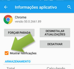 notificacoes chrome