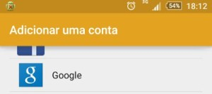 Como adicionar uma segunda conta Google no Android