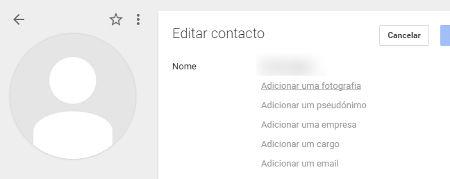 Como adicionar uma foto nos contatos Android