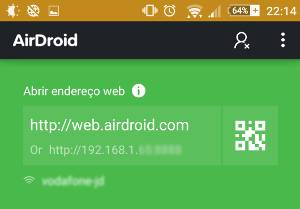 ip do airdroid