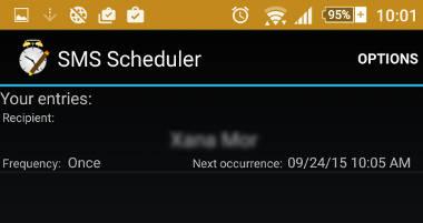 Como agendar o envio de SMS no Android