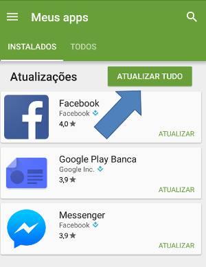 atualizar apps