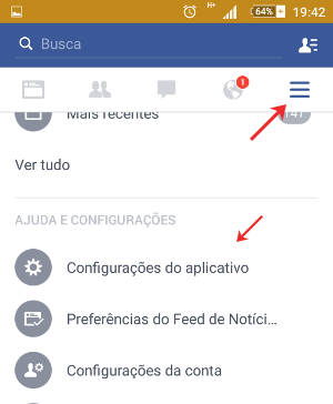 Como desativar as notificações do Facebook no Android