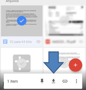 baixar arquivos google drive