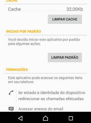 aplicativo padrão no android
