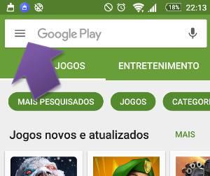 Como cancelar as atualizações automáticas no Android