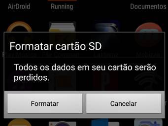 recuperar cartão SD danificado no android