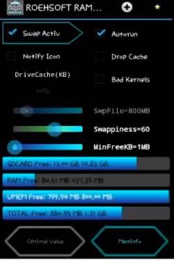 Como aumentar a memória RAM do Android ram expander