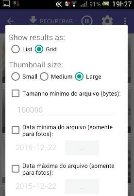 Como recuperar vídeos excluídos do celular Android