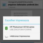 Como imprimir no Android (por cabo USB, Wi-Fi ou Bluetooth)