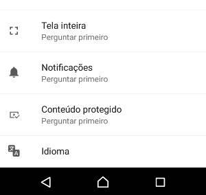 notificações do Google Chrome