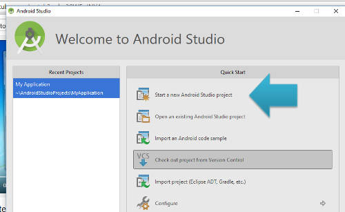 instalar o android studio