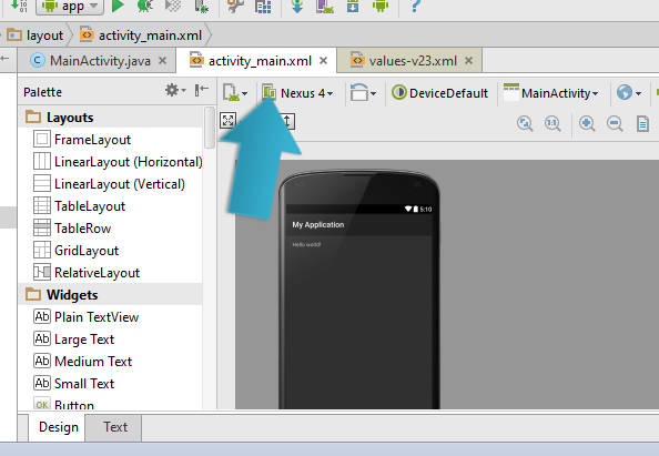 aplicativo android studio