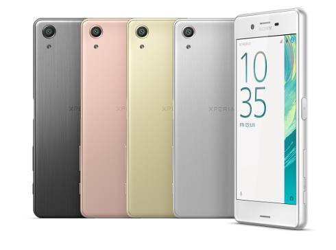Sony Xperia X Performance Colours