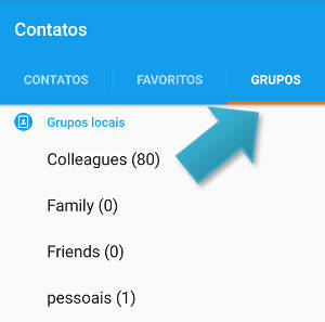 grupos android