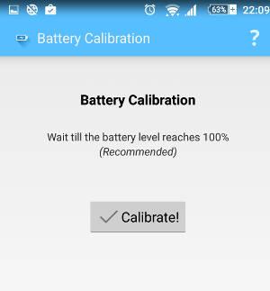 calibrador de bateria