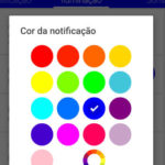Como alterar as cores de led de notificações do Android