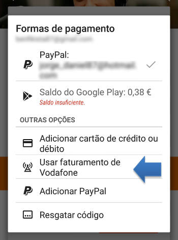 comprar no google play