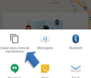 minha localização no Google Maps
