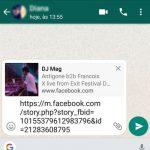 Como Partilhar Vídeos do Facebook no WhatsApp | Dicas Droid