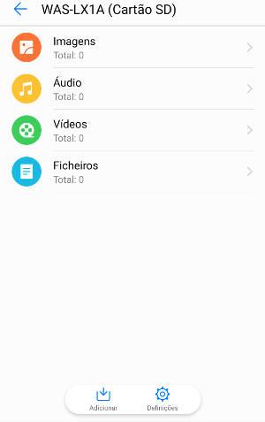 esconder arquivos nos smartphones Huawei