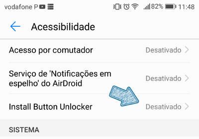 Instalar Bloqueado no Android