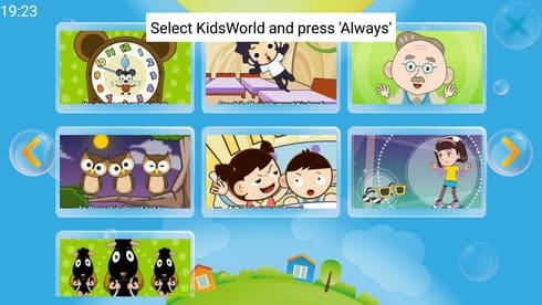 modo infantil kidsworld