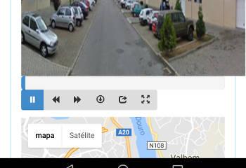 Google Street View em vídeo botões
