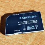 Características dos cartões SD compatíveis com gravação de vídeo 4K