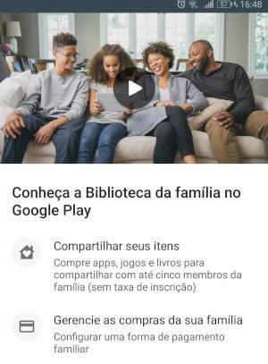 Como funciona o Google Família?