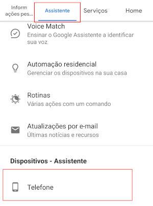 desativar google assistente