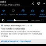 Android: Hora de rede não atualizada – Como resolver?