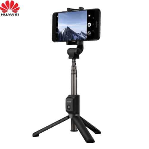 Pau selfie da Huawei com tripé