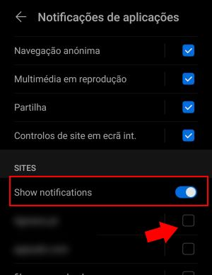 notificações do chrome bloquear