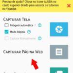 Como tirar um print de uma página Web inteira (Scroll Capture) – Android