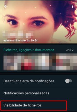WhatsApp de baixar Fotos automaticamente