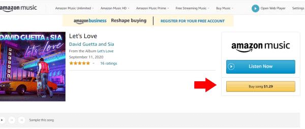 comprar musicas no android amazon music
