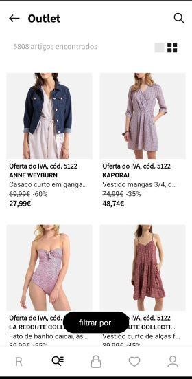 la redoute aplicativo para comprar roupa
