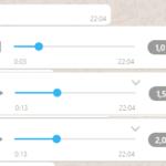 Como acelerar um áudio no WhatsApp (sem distorcer a voz)