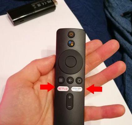 redefinir botões do comando da Xiaomi Mi Stick