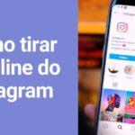 Como tirar o online do Instagram (Estado de atividade)